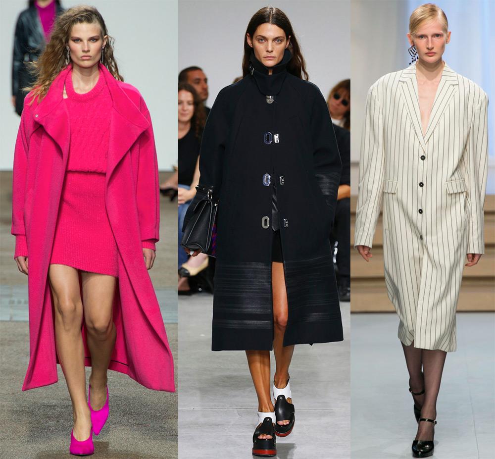 Самые красивые пальто на весну 2017 года