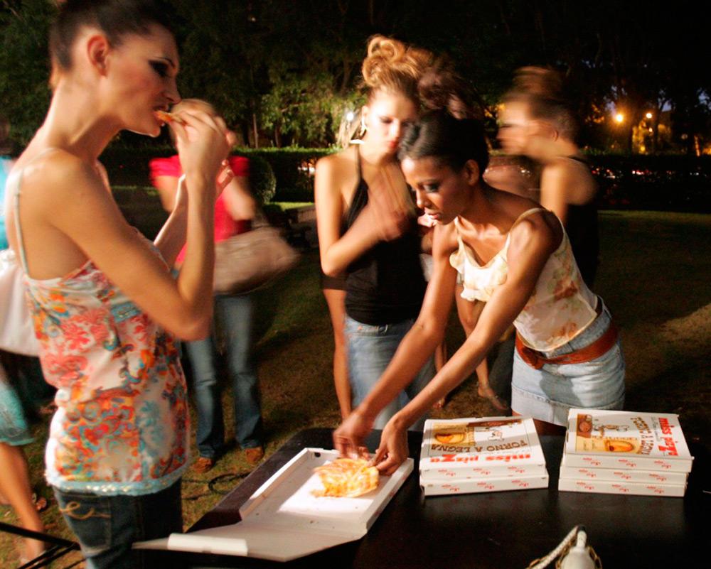 Диета и питание моделей