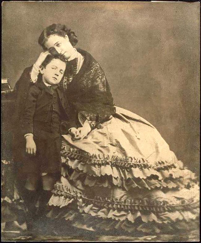 Фотография императрицы Евгении