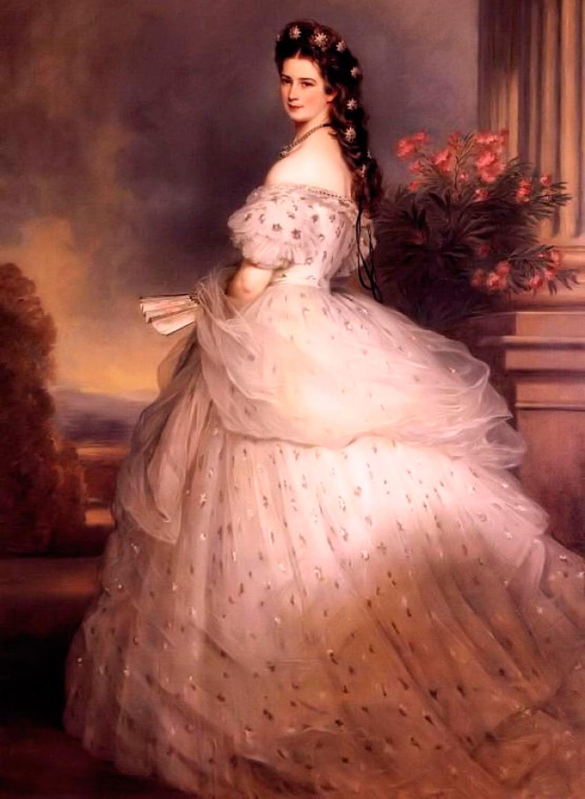 Платье стиля второе рококо