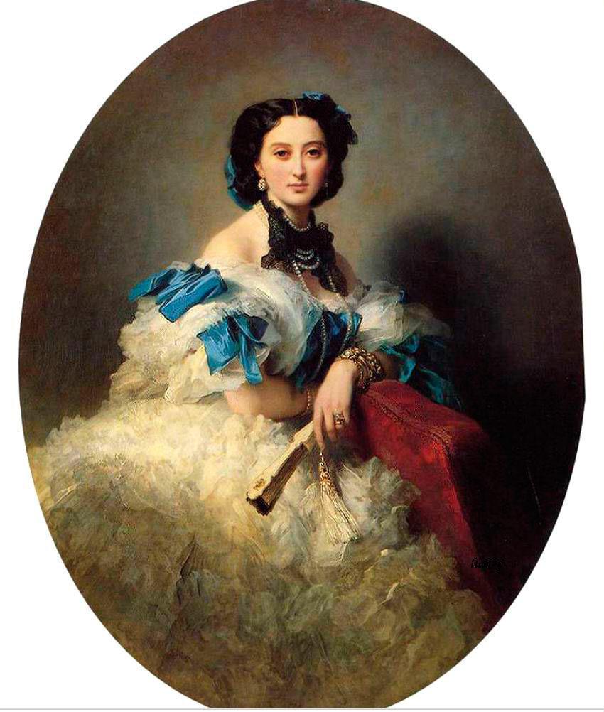Женская мода XIX века