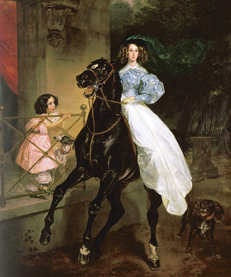 Женский костюм эпохи романтизма