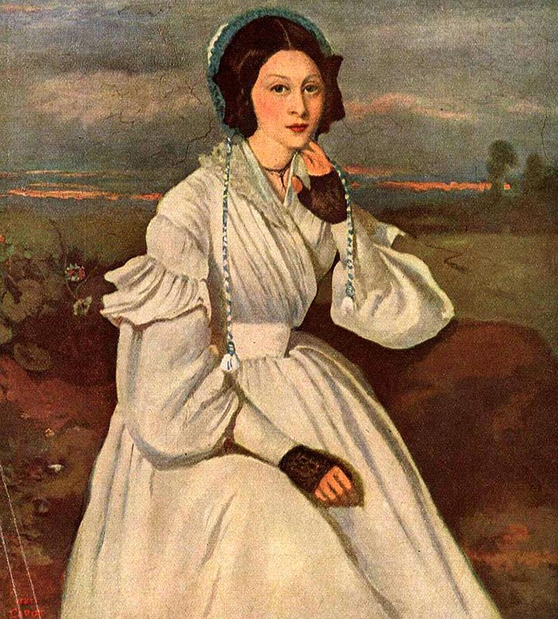 Платье эпохи романтизма