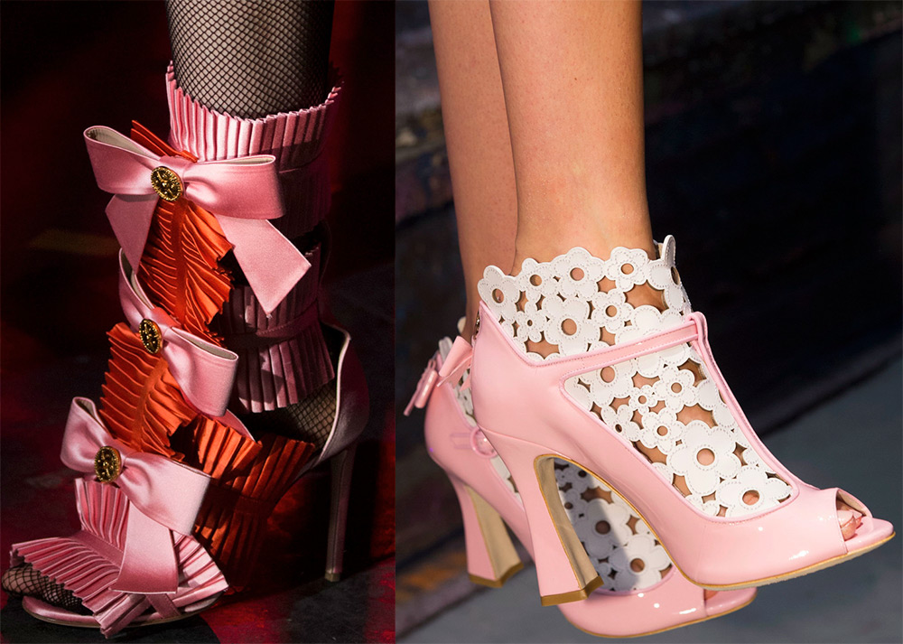 Unusual fashion shoes