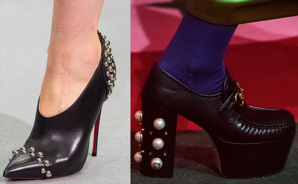 Powerful female shoes