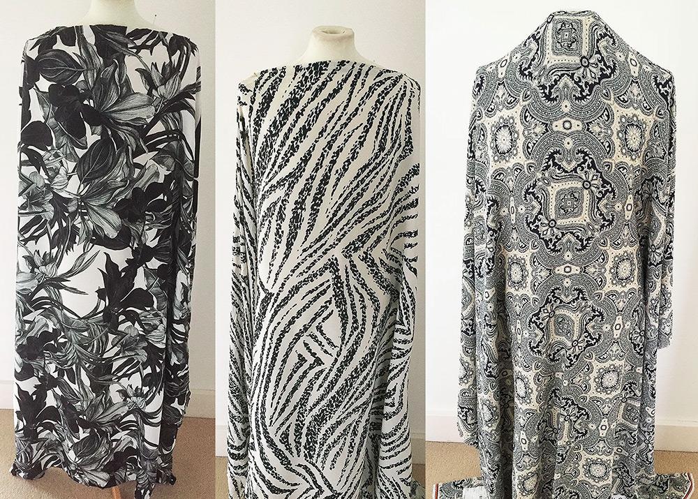 Красота и свойства ткани - креп-марокен