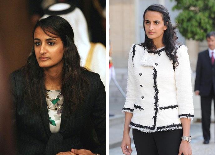 Принцессы Хинд Хамад Аль Тани и Аль-Майясса