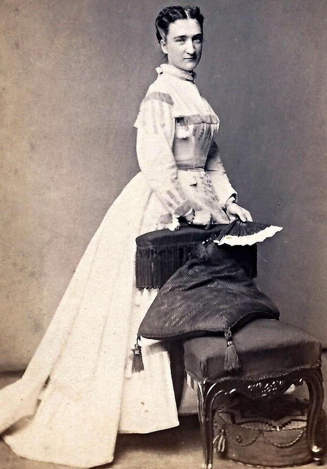 Платье 1860 годов