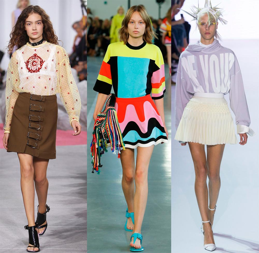 Модные мини-юбки 2017