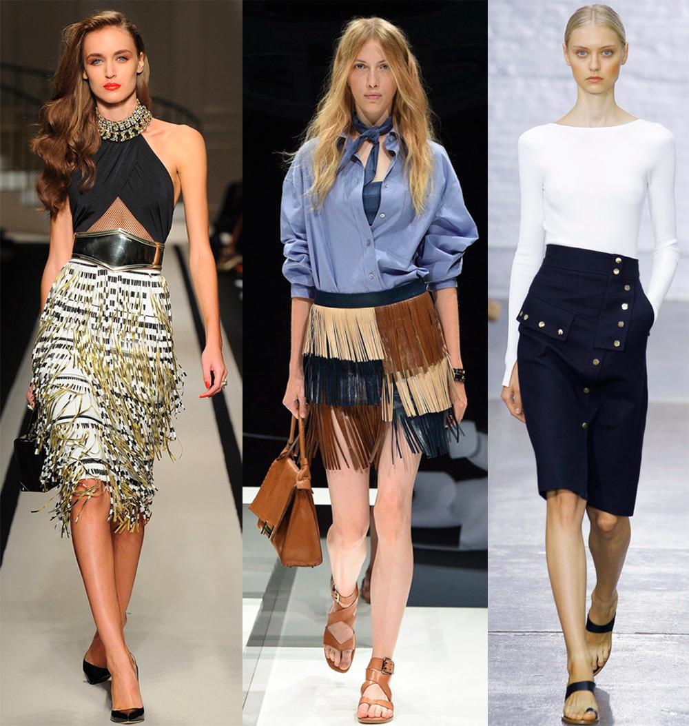 Модные юбки весна-лето 2017