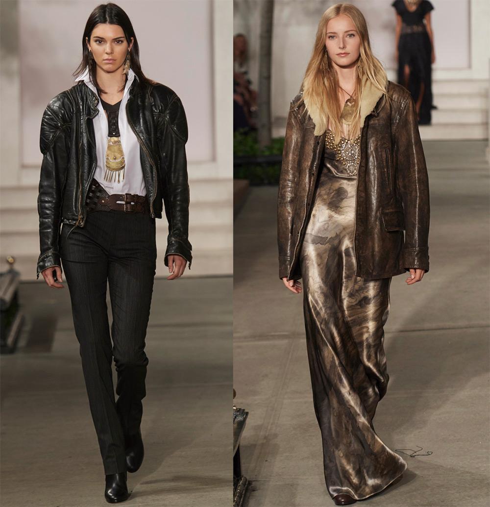 Женские кожаные куртки и жакеты
