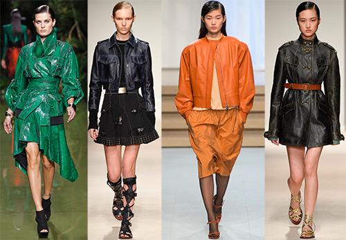Кожаные куртки 2017 – модные и стильные модели