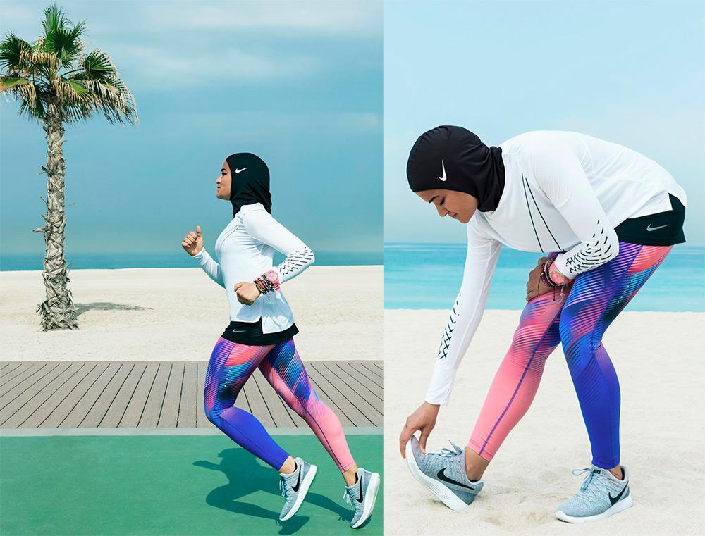 Спортивные хиджабы Nike
