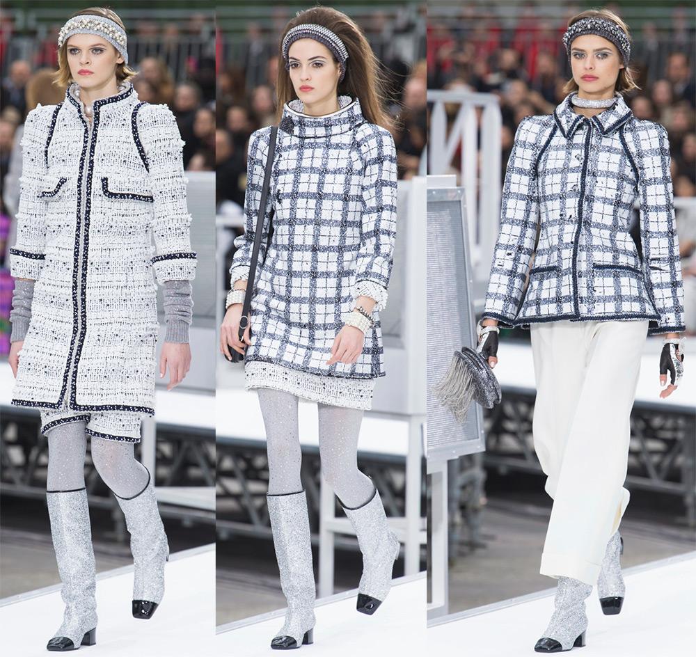 Коллекция Шанель осень-зима 2017-2018