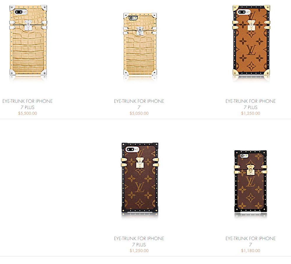 Чехлы из кожи крокодила для iPhone 7 от Louis Vuitton