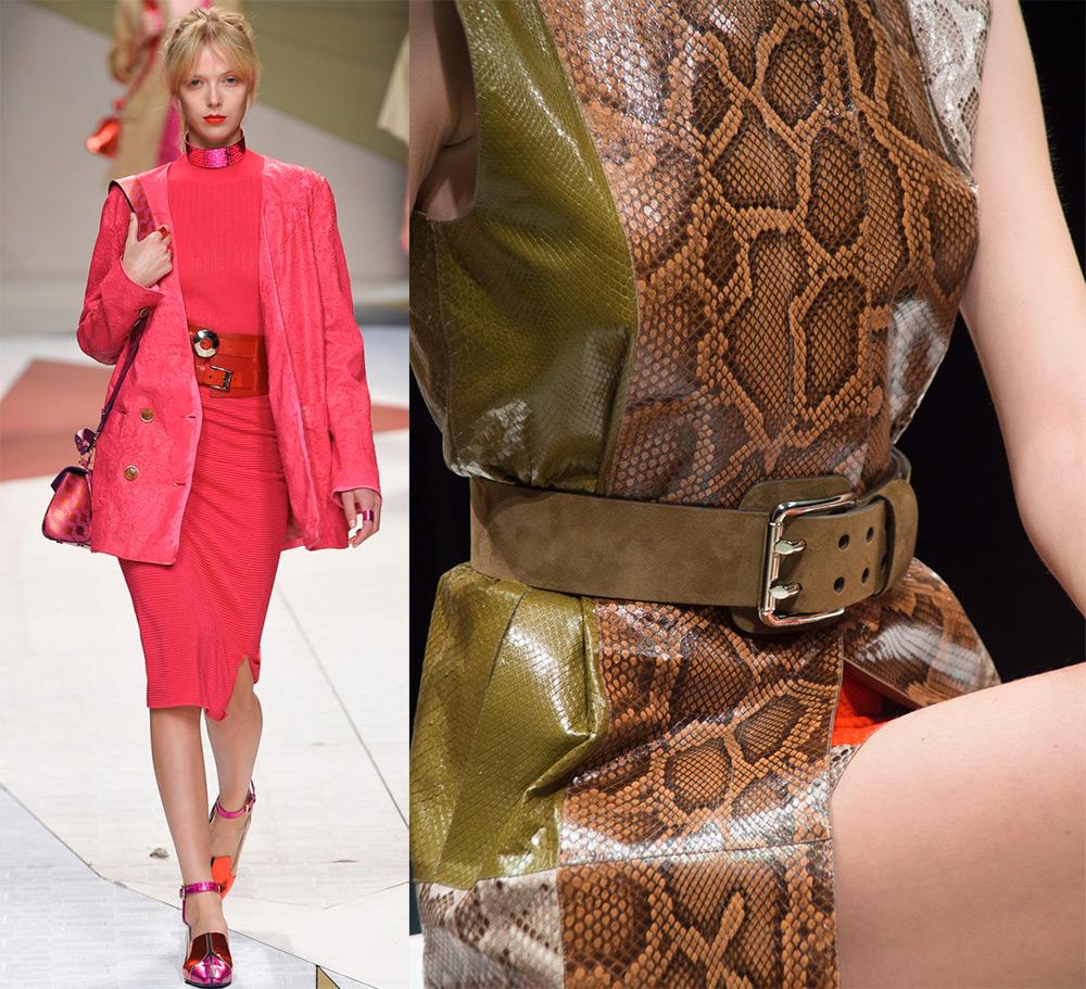 Модные ремни Trussardi и Tods
