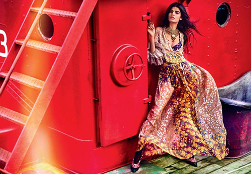 Bhumika Arora - необычная модель из Индии