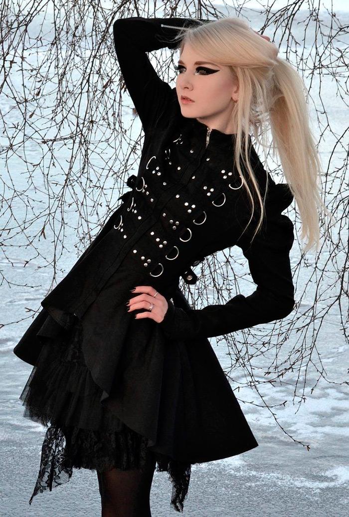 Готические платья картинки