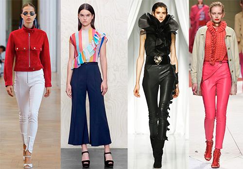 Женские брюки 2017 – модные тенденции и фото образов