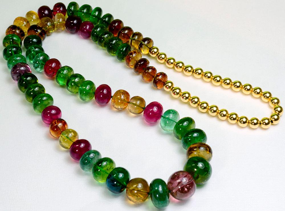 Разноцветные турмалины