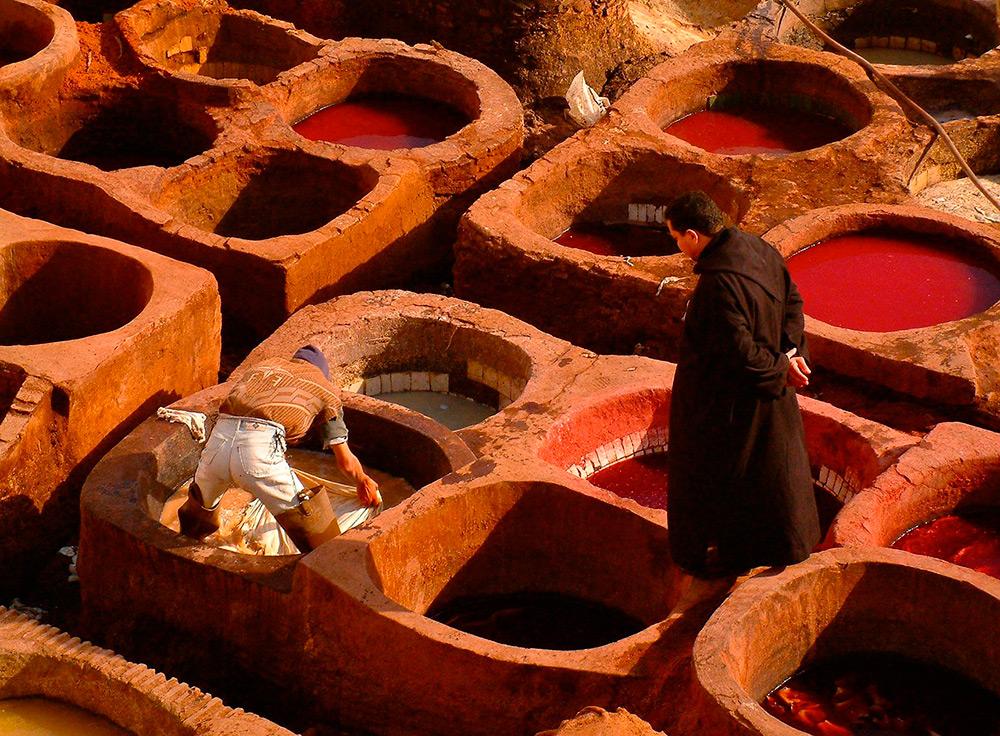 Кожа тисненый сафьян или марокен