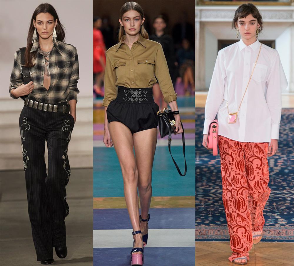 Женские блузки 2017