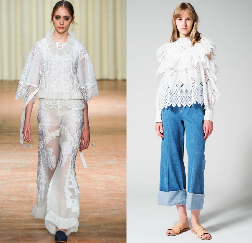 Все Модные блузки 2017 года