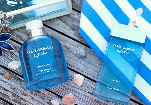 Парфюмерия Dolce & Gabbana – ароматы Light Blue