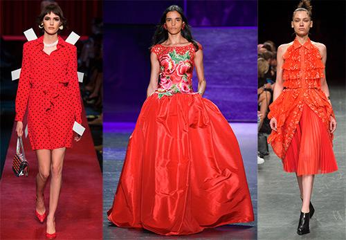 32 красных платья 2017 года