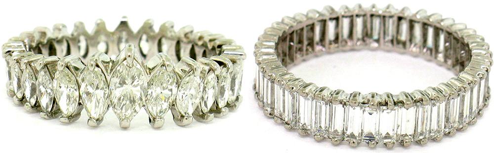 кольца ар-деко