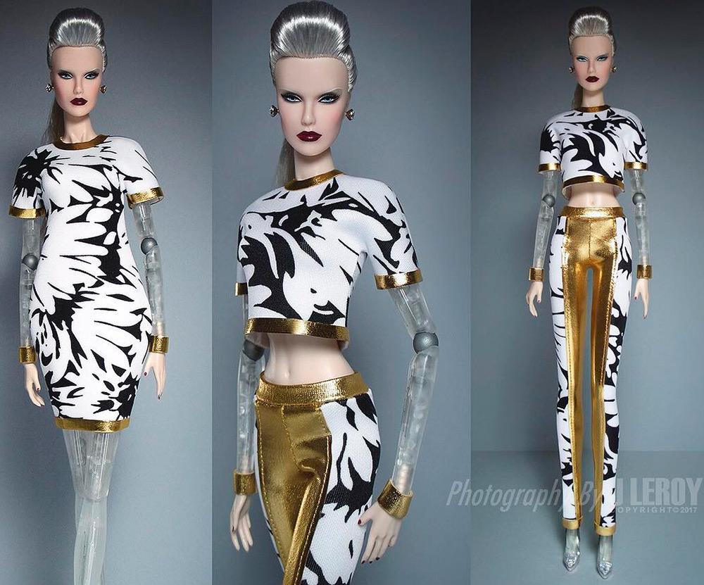 Что будет если совместить модную куклу с роботом