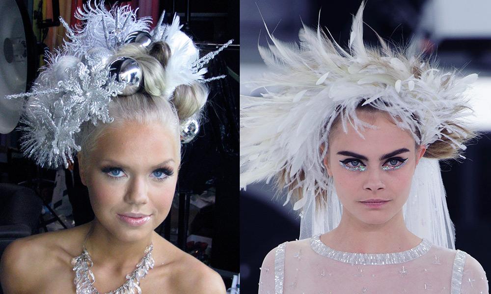 Идеи для макияжа Снежной королевы