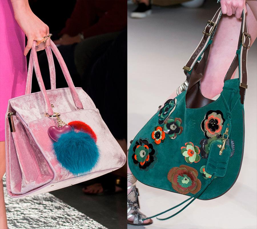 Модные женские сумки 2017 для творческих девушек