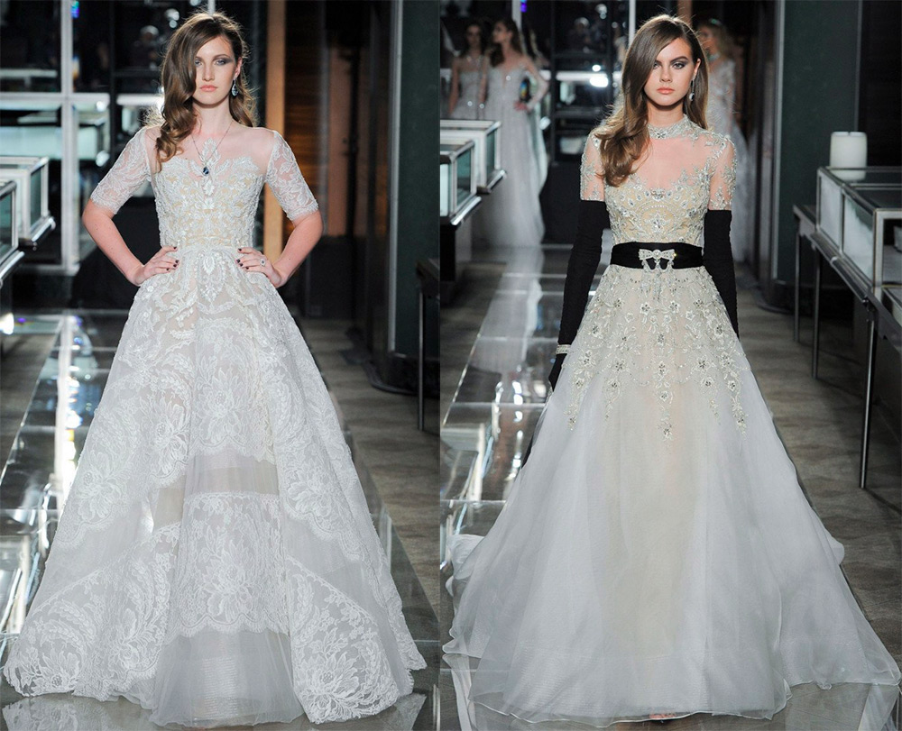 Свадебные платья весна-лето 2018