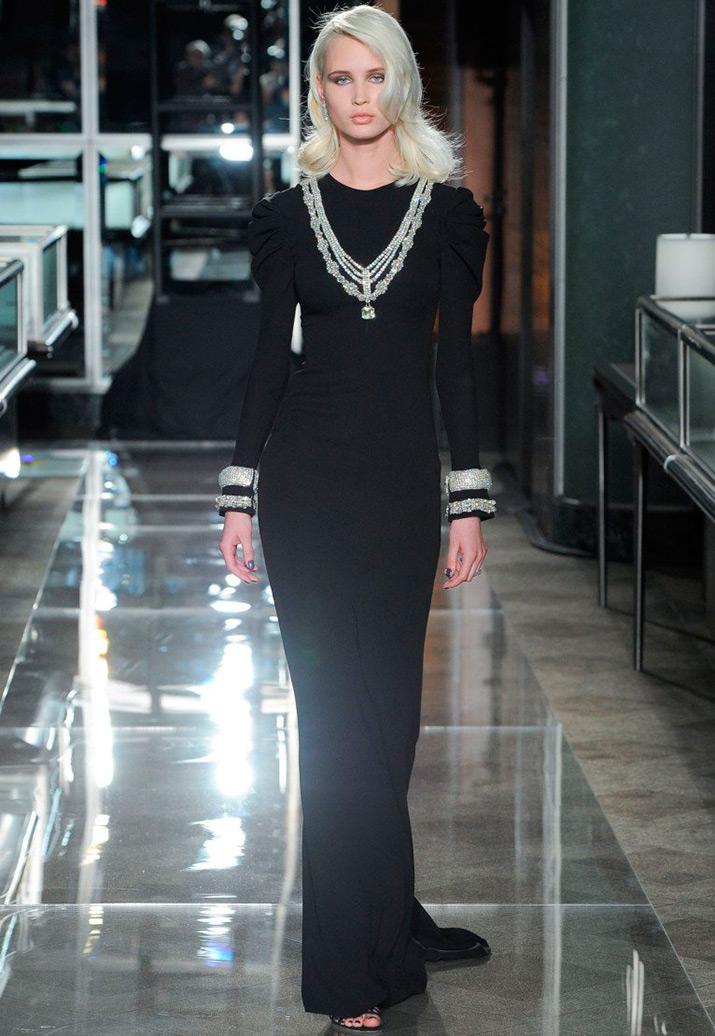 Черное свадебное платье 2018