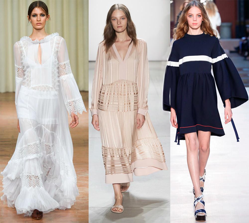 Модные платья свободного кроя 2017