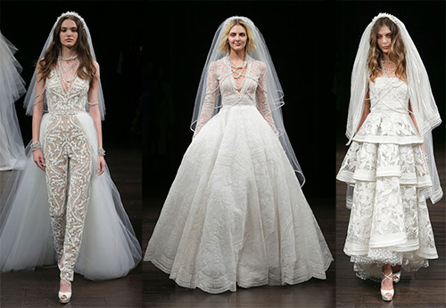 Сказочные свадебные платья Naeem Khan