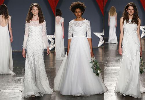 Скромные свадебные платья от Jenny Packham