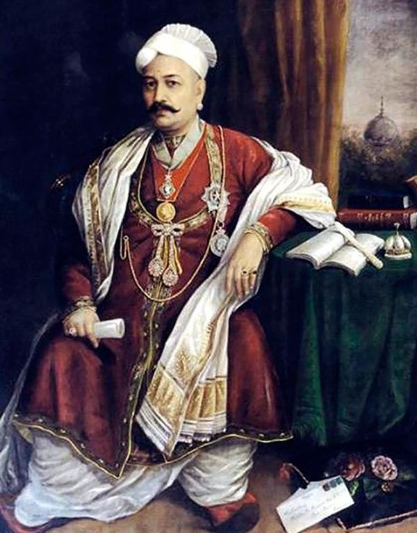 Индийский мужской костюм