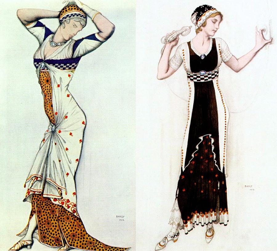 Лев Бакст – картины и влияние на мир моды