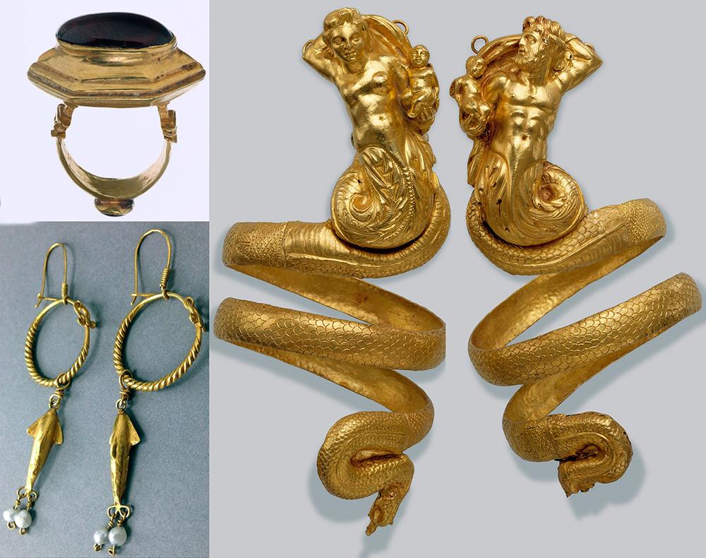 Ювелирные украшения в греческом стиле