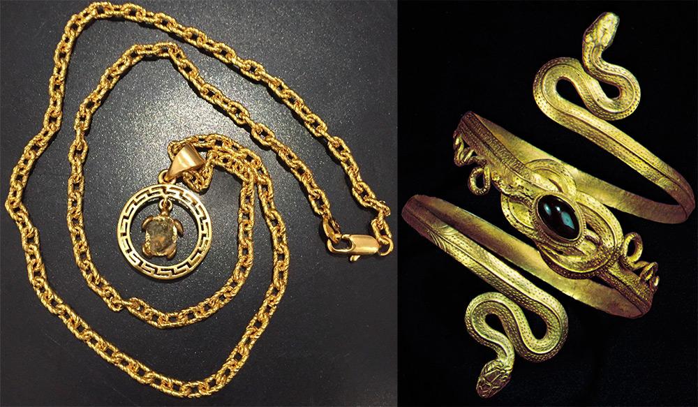 Греческие ювелирные украшения
