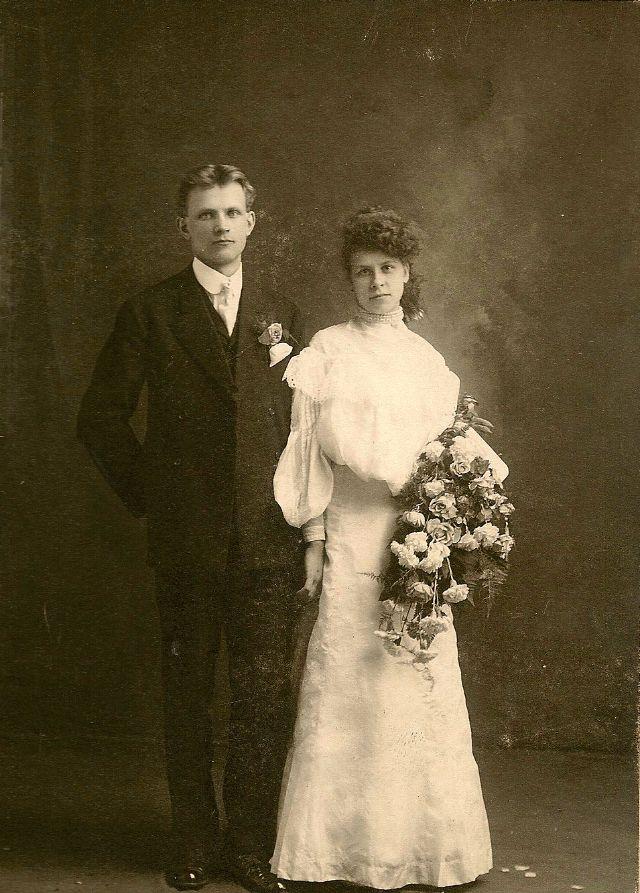 Старинные свадебные фотографии