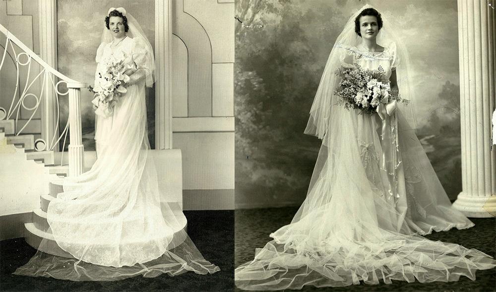 свадебное фото 1930 годов