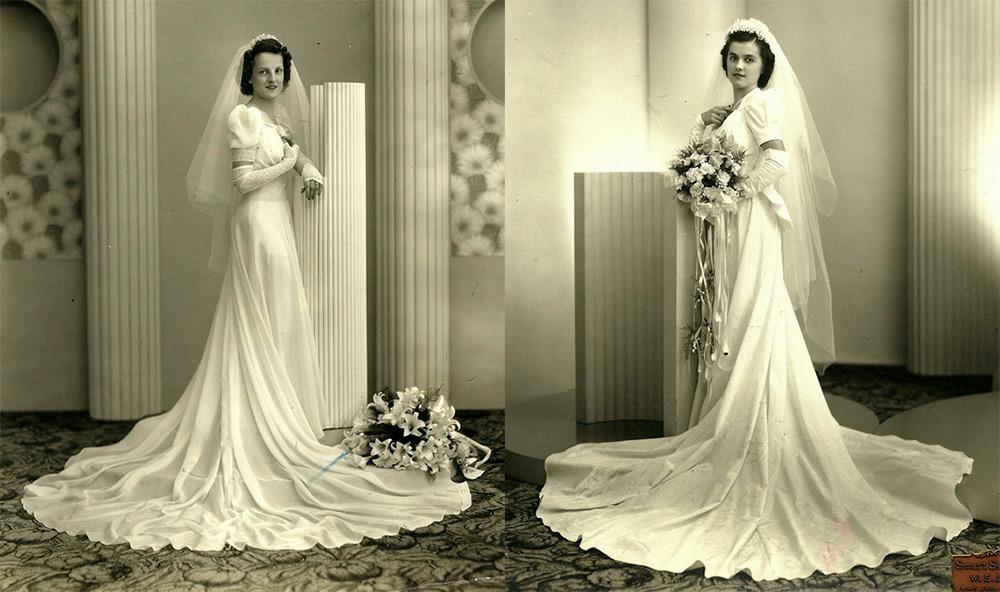 dd3252ab81a Свадебные платья 1930 – лучшие фото невест