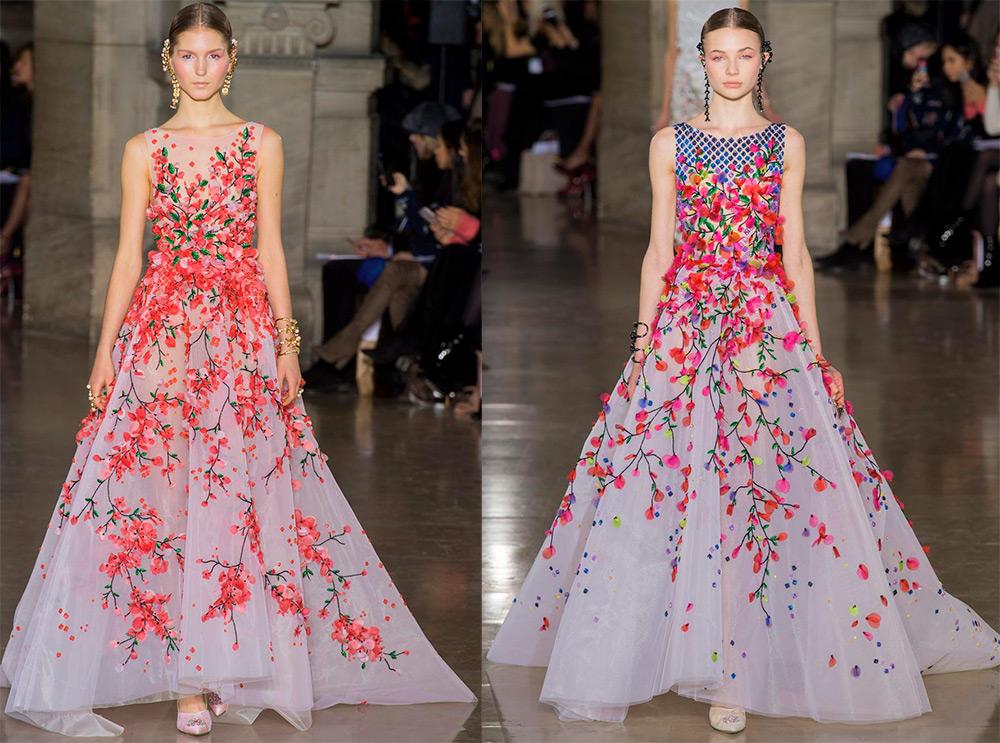 21 летнее платье в цветочек – лучшие модели
