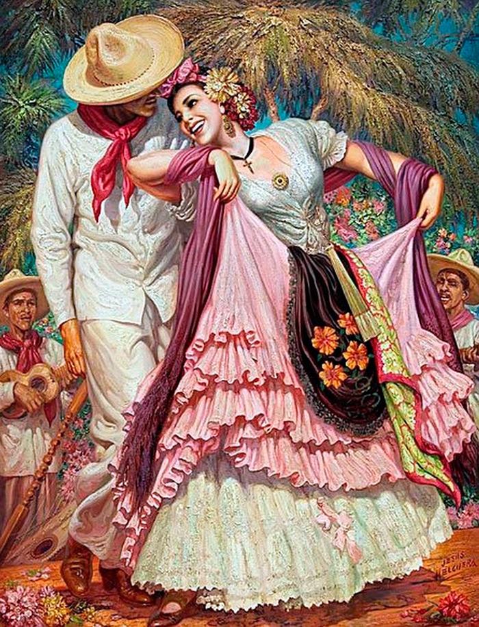 должен контрастировать мексиканские картины фото ищу полу
