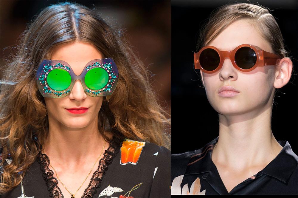 Модные солнцезащитные очки 2017 – фото женских моделей 02f3f77af6f