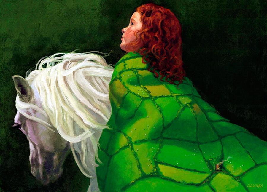 Национальный костюм Ирландии и ирландские девушки