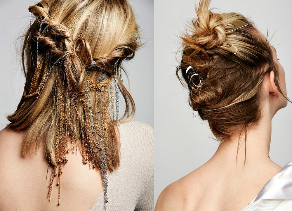 Золотые украшения для волос рекомендации